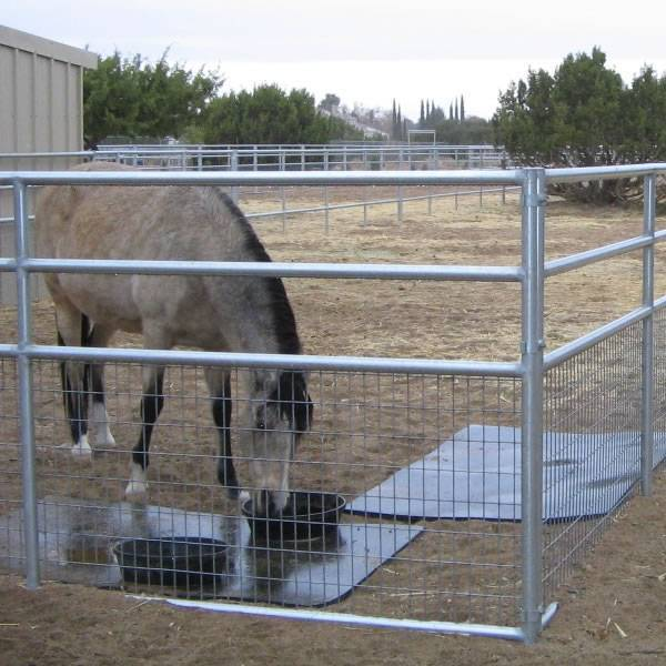 Livestock Fence Panels With Welded Wire Mesh